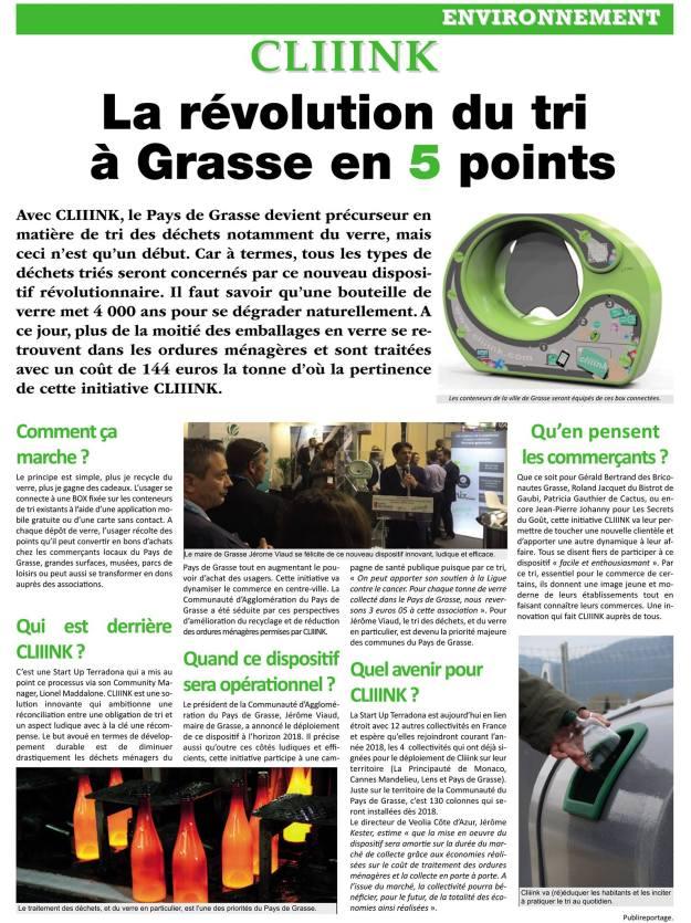 Le Petit Nicois n°3 (articles sur Grasse)