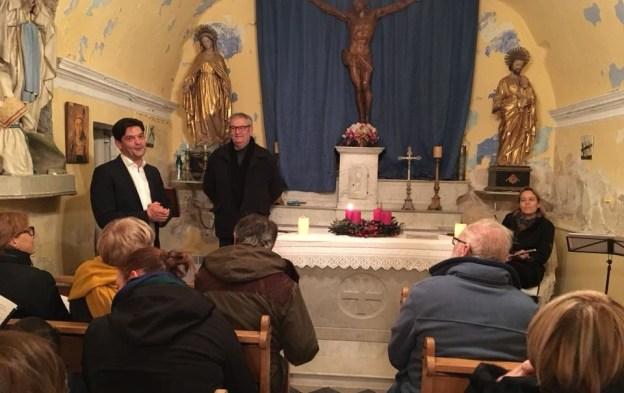 Traditionnelle fête de l'avent à la chapelle St François 01