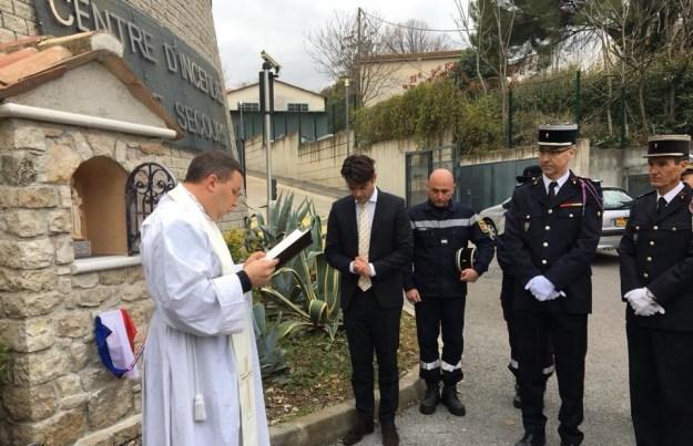 inauguration de l'oratoire dédié à Sainte Barbe 02