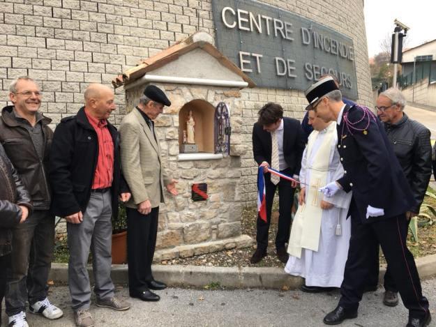 inauguration de l'oratoire dédié à Sainte Barbe 04