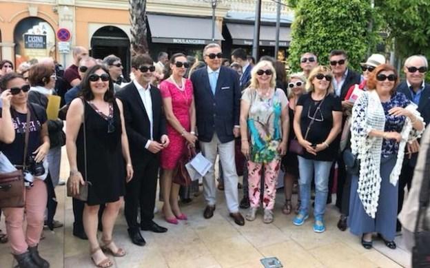 Apéritif rencontre sur le Clavecin avec les équipes en charge du tourisme en pays de Grasse 01