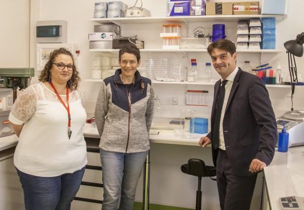 Rencontre avec les 3 premières entreprises qui ont intégrées l'hôtel d'entreprises Biotech 03