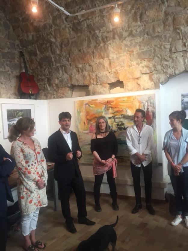 Vernissage de l'exposition des artistes Ester de Pass et Alexandra Verbeek, Galerie Tressmane 02