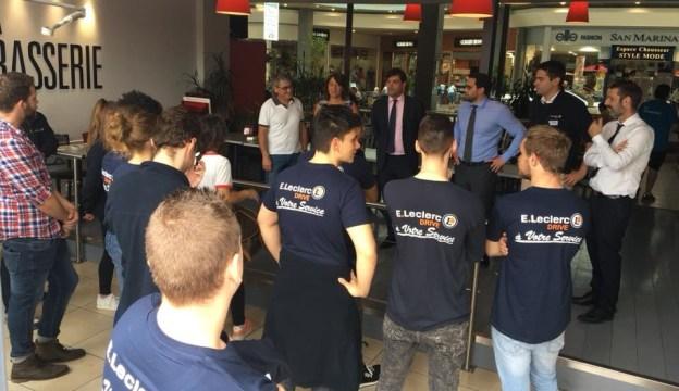 30 jeunes grassois intrègrent la famille des centres Leclerc 01