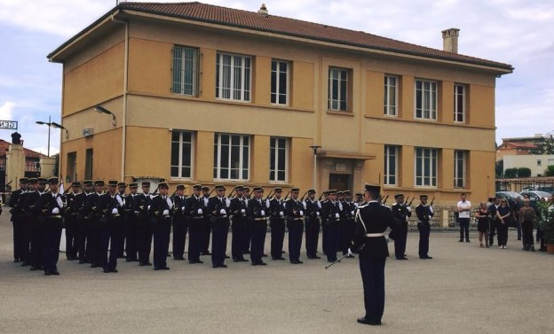 ANNIVERSAIRE DES 80 ANS DE PRÉSENCE DE LA GENDARMERIE MOBILE A GRASSE 06
