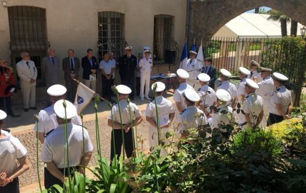 Remise de brevets aux jeunes stagiaires de la Préparation Militaire Marine de Grasse 04