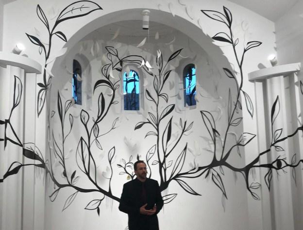 Vernissage de l'exposition de Bernard Venet et Erick Ifergan à Vence 02