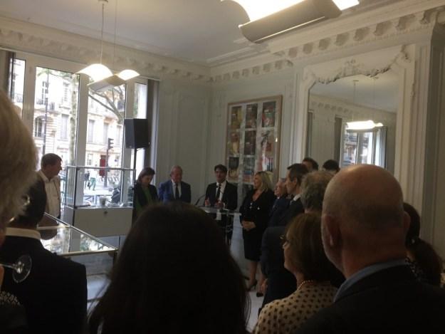 inauguration espace Le Cannet Cote d'Azur – pays de Grasse à Paris 03