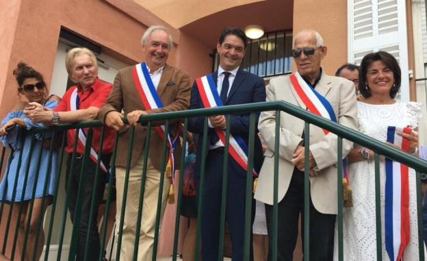 Aux côtés de Pierre BORNET maire de Cabris 03