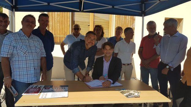 Extension du site VTT FFC des Monts d'Azur à nos villages et station de Gréolières les Neiges 01