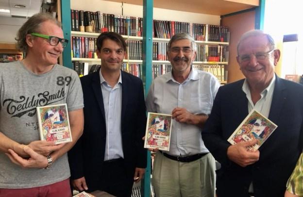 Sortie du livre de Robert VERLAQUE Grasse, dans les bouleversements du XXe siècle