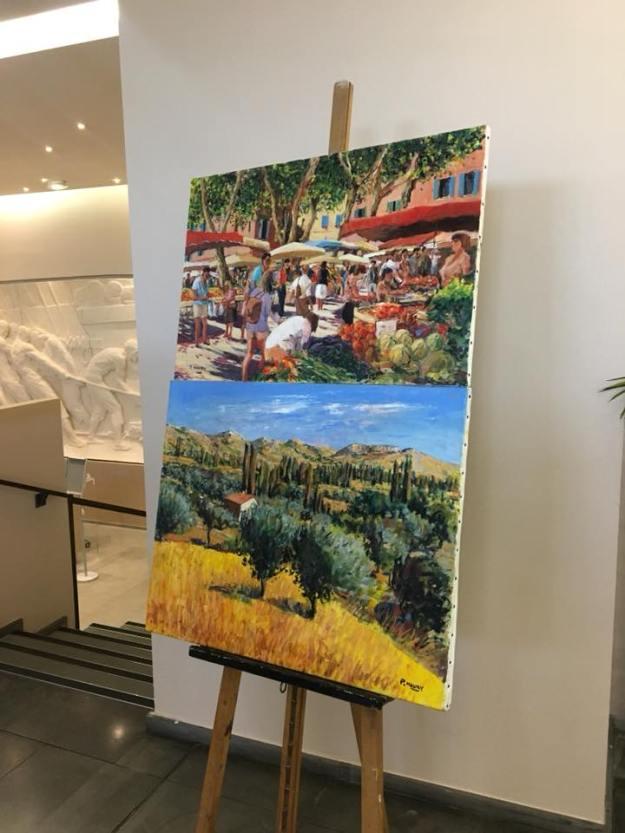 Vernissage de l'exposition des Artistes du Pays Grassois 04