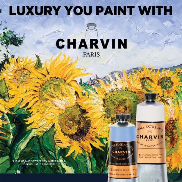 Master Quality Professional Oil Paints - Charvin Extra Fine Oils