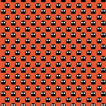 Skulls 3 free printable pattern Halloween