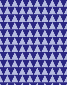 Blue trees pattern