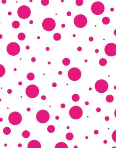 Solar Circles pattern - pink