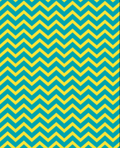 superbright-green yellow chevron