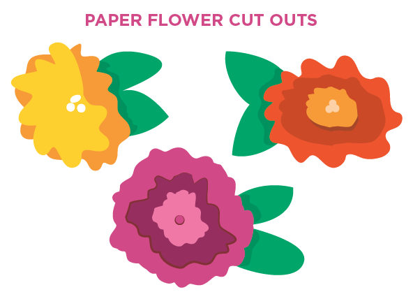 Funky Flower Cut Outs
