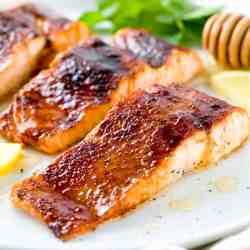 Prissy Molasses Glaze Recipe Jessica Gavin Salmon Steak Recipes Grilled Salmon Steak Recipe Soy Sauce Easy Broiled Salmon