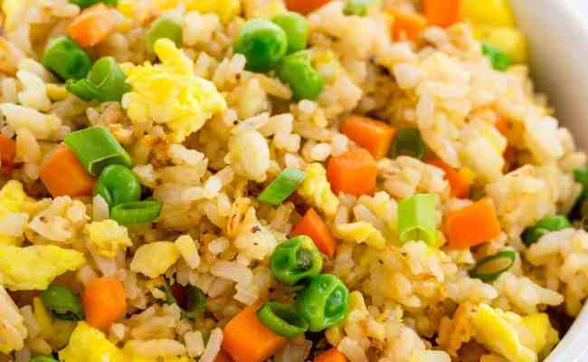 Easy Fried Rice Better Than Takeout Jessica Gavin