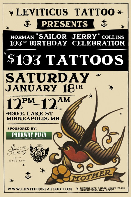 Sailor Jerry Events