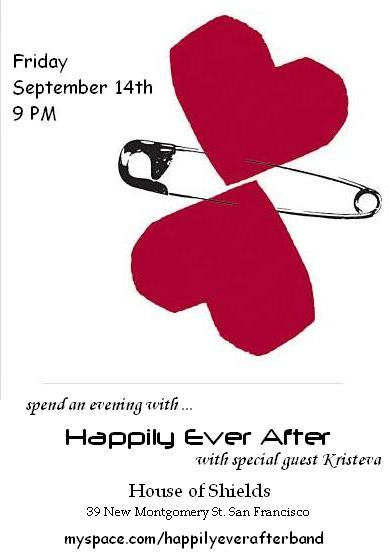 Happily Ever After announcement