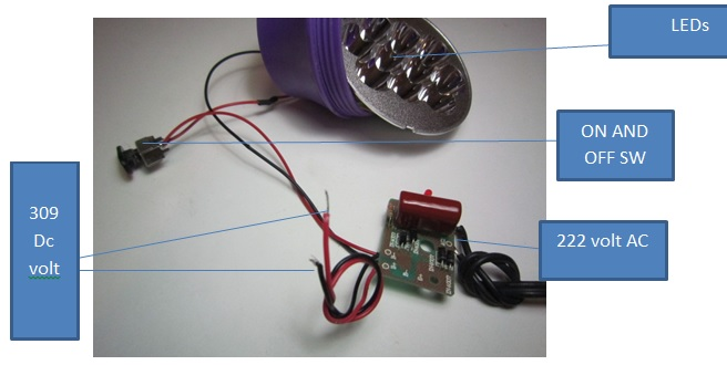 Mystery of Chinese Torch Recharging System Electronics Repair And