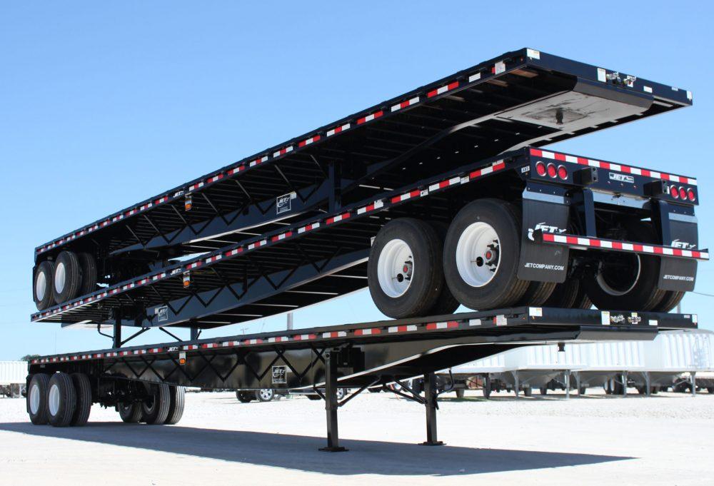 Flatbed Trailers Steel Platform Trailer Jet Company