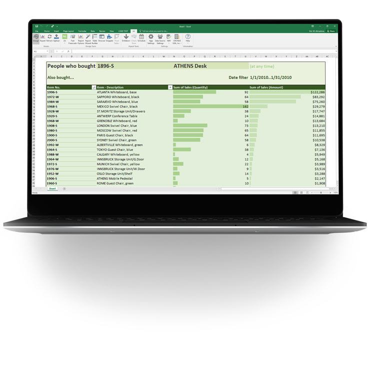 Microsoft Dynamics Excel Add in - Jet Reports (Formerly Jet