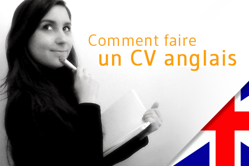 comment faire un cv en anglais universite