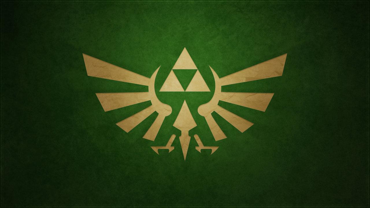 Awesome 3d Art Wallpaper Wallpaper Triforce Zelda Vert Jeux Video Info
