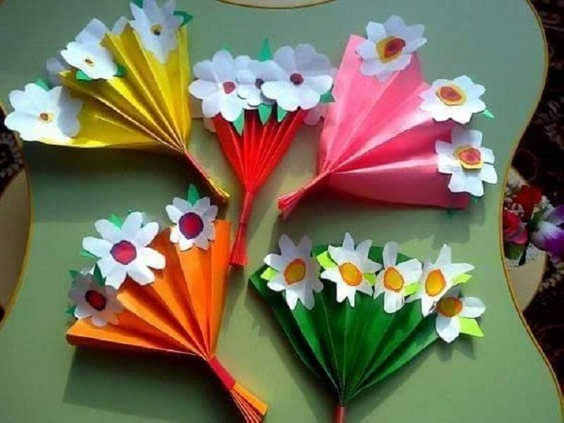 Bricolage En Papier Plie Quelques Idees Creatives