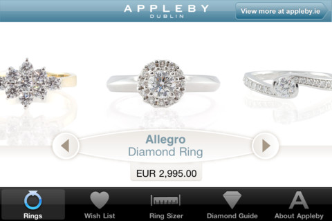 Appleby App Wish List