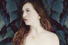 Kaja Gjedebo Secret garden necklace+earrings jpg