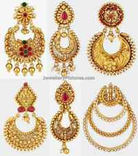 Antique Earrings Latest Indian Jewelry - Jewellery Designs