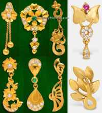 Earrings Designs in GRT Jewellers - Jewellery Designs