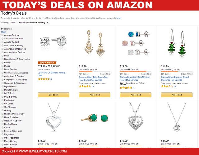 Amazon Jewelry Deals \u2013 Jewelry Secrets