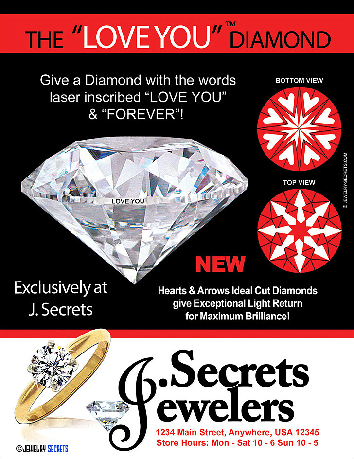 THE LOVE YOU  FOREVER DIAMOND SAMPLE ADVERTISEMENT \u2013 Jewelry Secrets