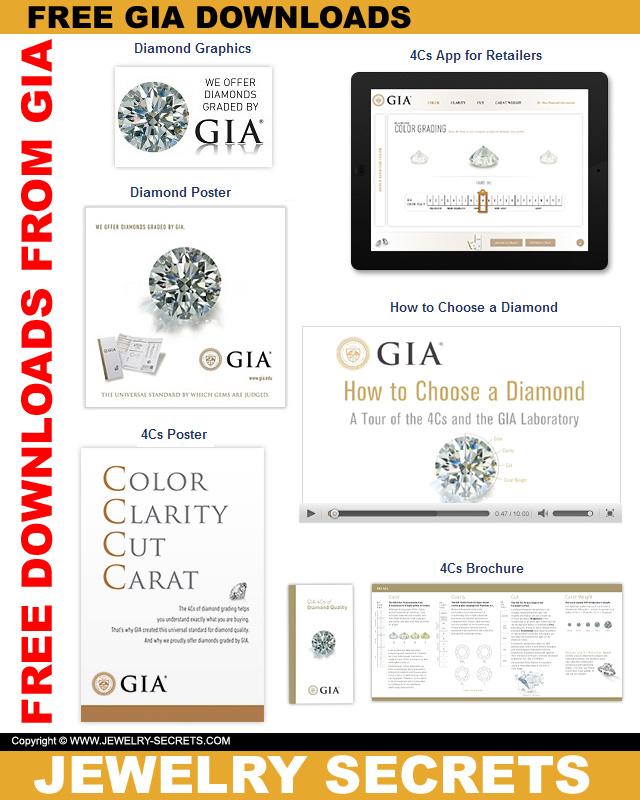 FREE GIA 4C\u0027S DIAMOND CHART DOWNLOADS \u2013 Jewelry Secrets