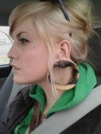 Gauge Earrings | The Jewelry Weblog