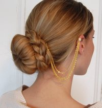 Create a Chic Look with Ear Cuff Hair Chain - Jewelry Gossip