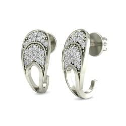 Stylized Women 12 Carat Diamond Earrings Diamond Earrings Women Walmart Women Ct Certified Solid G Diamond Earrings