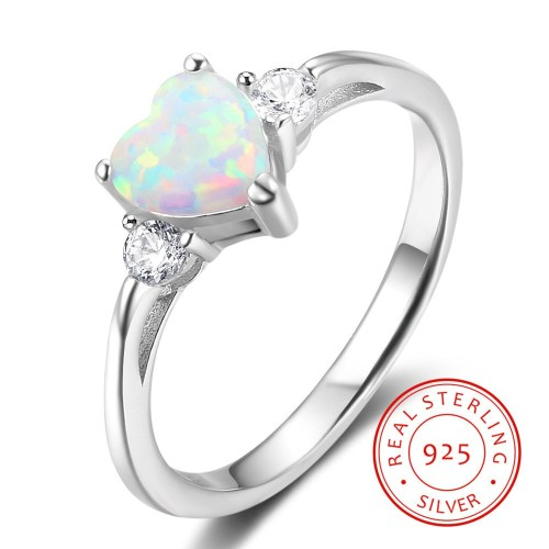 Medium Crop Of Silver Engagement Rings