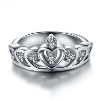 Charming Princess Crown-shaped 925 Sterling Silver ...