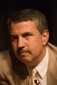 Thomas Friedman is visiting in Israel this week.