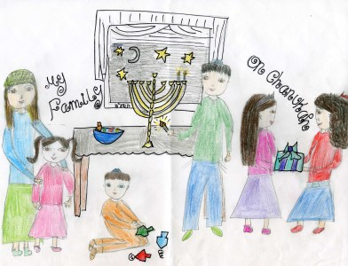 Submitted by Chaya Weintraub, age 12