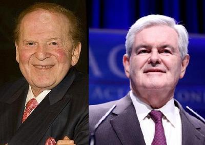 Adelson and Gingrich