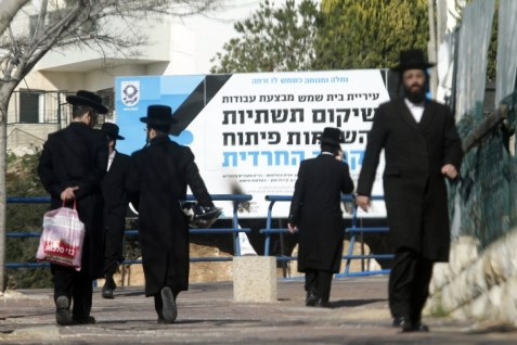 Hareidi Jews in Beit Shemesh
