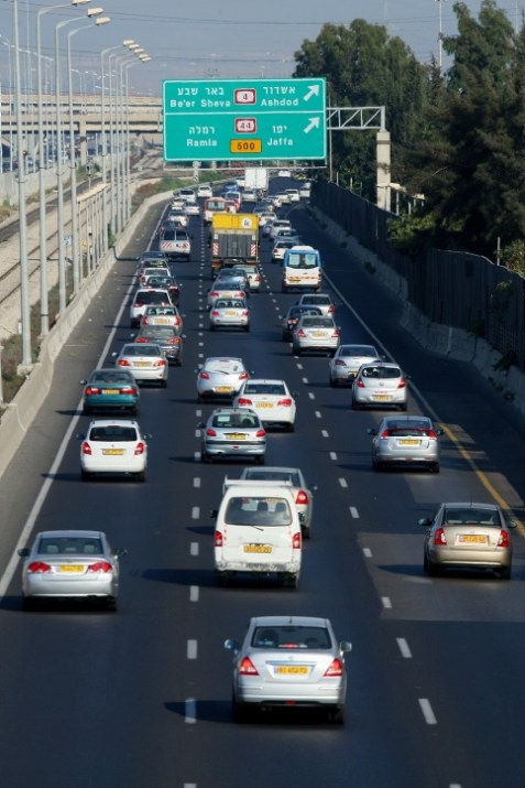 Israeli Cars on the road