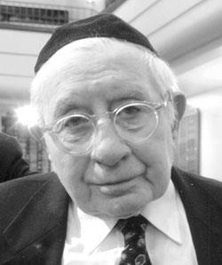 Rabbi Sidney Kleiman